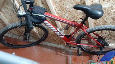 Спорт и хобби - Токмок: Продаю велосипед Корея рама17,колеса26 в хорошем состоянии только