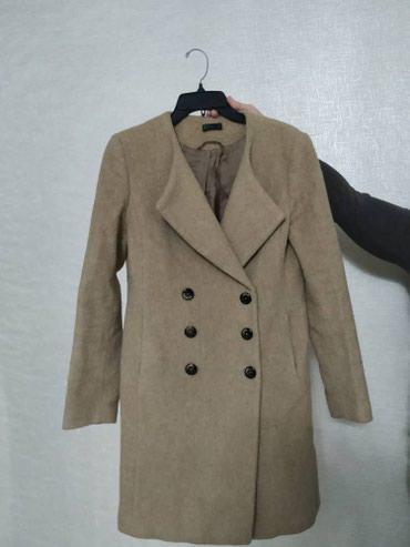Продаю женское пальто бренда Benetton,размер 44-46 в Бишкек