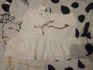 Din suknja - Srbija: Pamucna suknja,nova sa karnerom.1500 din
