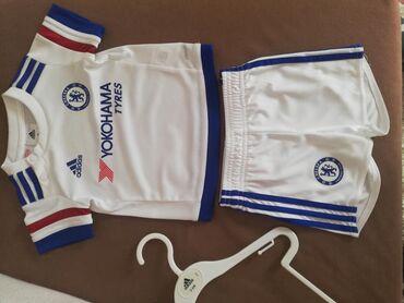 Dres barselone - Srbija: Dres za decu. Komplet dres i sorc, FC Chelsea, Adidas original