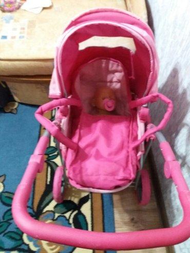 детская игрушечная каляска +беби бон в подарок  в Бишкек