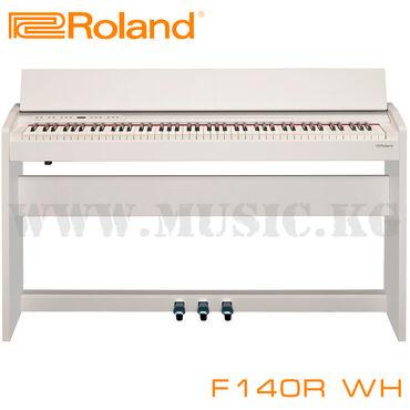Пианино Roland F-140R - это компактный корпус, стильный внешний вид и