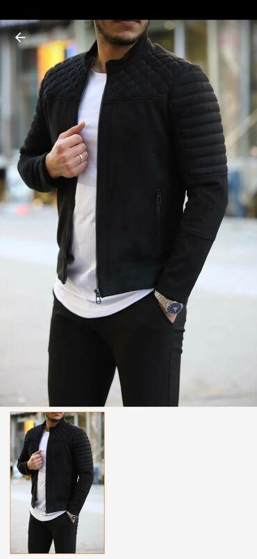 Мужская одежда в Беловодское: Продаю новую лёгкую курточку. Заказали с Турции, размер не подошёл