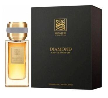 "SIGNATURE ""DIAMOND"" 100ml eau de parfum France"