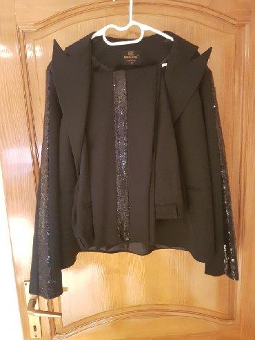 I pantalone broj - Srbija: Prelep crni komplet pantalone i sako br 44