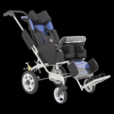 Детский мир - Базар-Коргон: Продаётся специальная инвалидная коляска Рейсер+, кофейного цвета. Для