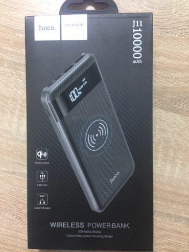 Original hoco Wireless power bank 10000 mah. hem simsiz zaradka verir. - Bakı