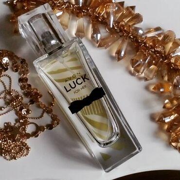 Gözəllik və sağlamlıq - Mingəçevir: Avon Luck etri 30 ve 50ml 100% orgijal topdan ve parakende satis