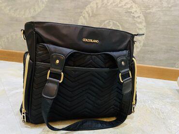 Yumşaq uşaq kombinezonları - Azərbaycan: COLORLAND marka 8 cibli uşaq çantası . 1 termal cibi var . Yeni alınıb