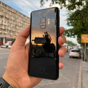 Электроника - Ананьево: Samsung Galaxy S9 | 64 ГБ | Черный | Сенсорный, Отпечаток пальца, Беспроводная зарядка