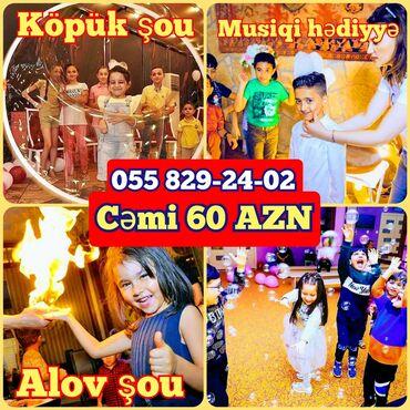 kopuk sou qiymeti - Azərbaycan: Tədbirlərin təşkili | Köpük şou