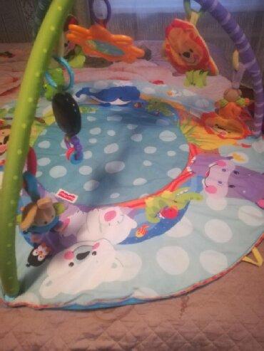Детский мир - Арчалы: Развивающий коврик, в хорошем состоянии со всеми игрушками