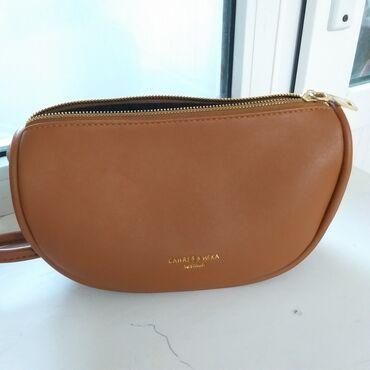готовая сумка в роддом купить в Кыргызстан: Продается женская кожаная сумка. Фирменная. Состояние отличное