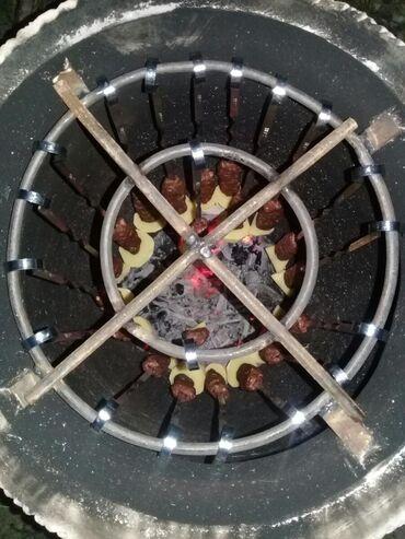 Шашлычный тандыр для гурманов Высоко прочный огнеупорный материал