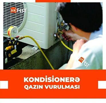 Kondisioner ustasi bakida - Азербайджан: Ремонт | Кондиционеры | С гарантией, С выездом на дом, Бесплатная диагностика