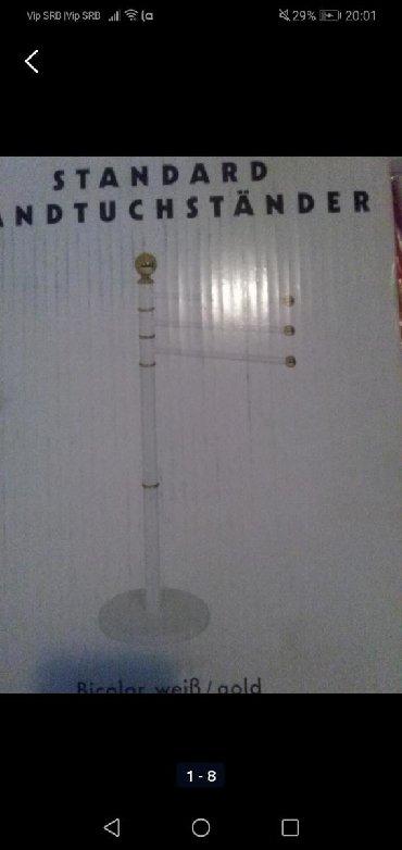 Novi stalak za peškire