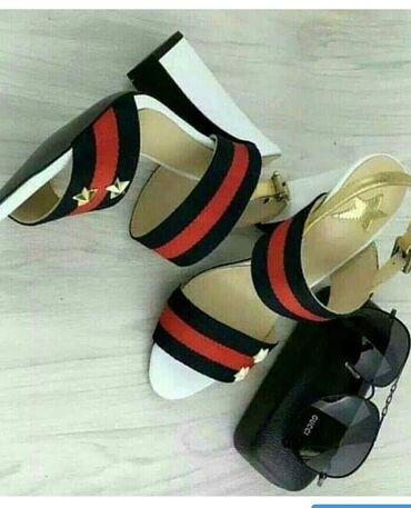 туфли-новые в Кыргызстан: Новые туфли GUCCI размер 38 чуть маломерят. Кожа. Отдаю ниже