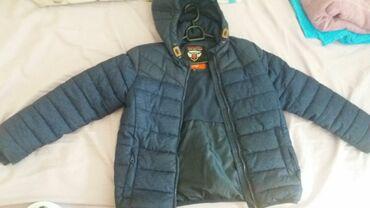 Dečije jakne i kaputi | Sombor: Teget ocuvana jakna vel 134/140 cena 2000din