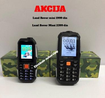 Telefon LAND ROVER MINI  I LAND ROVER MAXI Dve Kartice- Srpski Meni  - Beograd