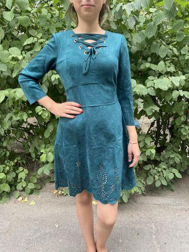 Новое платье    Размеры 44, 48 Цена : 500 сом