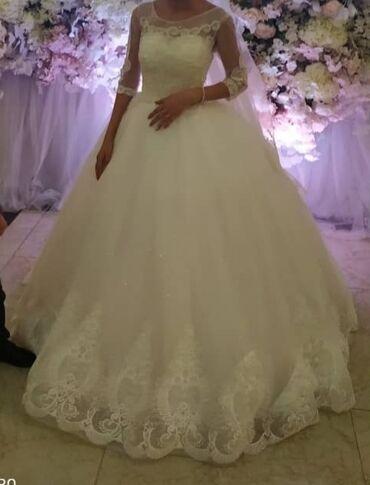 Женская одежда - Мыкан: Свадебное платье. Ручная работа все бусинки сшиты вручную.  Любимое и