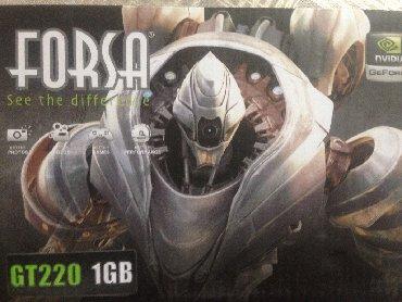 рабочая видеокарта в Кыргызстан: Видеокарта NVIDIA GeForce GT 220 - 1гб. Б/У древняя игровая видеокарт