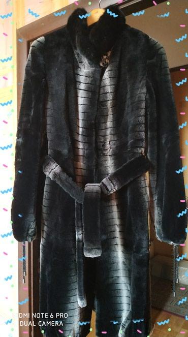 Шикарная женская шуба бобер, воротник норка, размер 38-40. в Бишкек