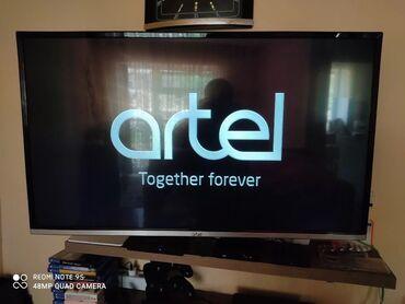 hd-mpeg4-dvb-t2 в Кыргызстан: Телевизор Artel 43/A9000 Smart TV DVB-T2 Full HD черный в отличном