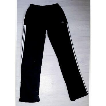 Штаны спортивные Adidas, подростковые, утеплённые.Размер: 12 - 15
