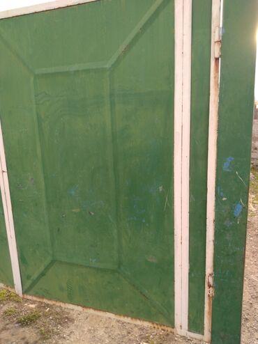 ворота на гараж в Кыргызстан: Ворота для гаража хорошее состояния савецкий митал стойки швелера