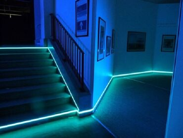 LED ️Светодиодная лента 1:6 светами 12V 5 Метровая