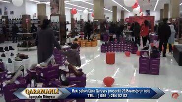 - Azərbaycan: 1000 kv.m-lik mağazaya 30 min manata yığılmış Polka ve vitrinler çox