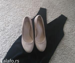 Cipele stikle visina - Srbija: Nove cipele krem sa visokom stiklom i platformom od napred. Veličina