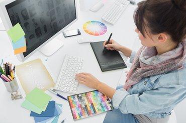 Создание презентаций, слайд-шоу, обработка фото. Дизайны в Photoshop, в Бишкек