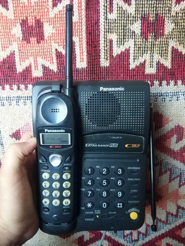 Panasonic kx t7730x - Кыргызстан: Радиотелефон Panasonic kx-tc1222jxb С определителем номера(если у вас