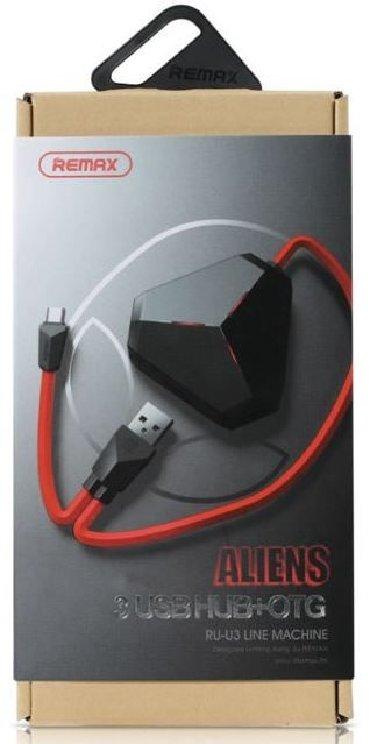 Kabellər və adapterlər - Azərbaycan: Remax - 3 USB HUB + OTG Satiram. Maraqlanan Whatsapp ilə əlaqə saxlaya