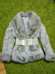 Krzneni kaputi | Bor: HITNO!!! Siva atraktivna bunda! Povoljno snizeno!