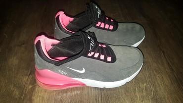 Ženska patike i atletske cipele | Backa Topola: Nike Air Max br.38 malo je veci kalup, odgovara za br. 39.samo probane