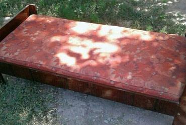 Продам б.у кровать односпалка.Токмок в Бишкек