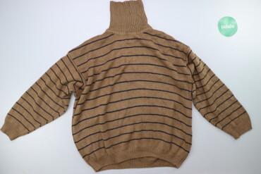 Жіночий светр у смужку р. 4XL    Довжина: 68 см Ширина плечей: 52 см Д