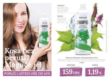 Amazon cosmetics - Srbija: Recite STOP peruti i masnoj kosi️Poručite šampon sa climbazolom i