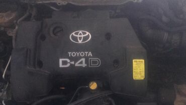 тойота королла бишкек цена в Кыргызстан: Toyota corolla verso 2002 год, v-2.0 diesel (d4-d), двигатель