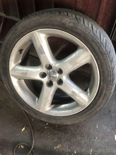 Продаю диски Toyota Caldina GT (r17)С резиной 215/45/17Aoteli (Китай)