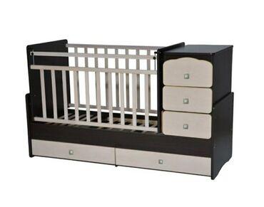 бу детские кроватки в Кыргызстан: Продаю детскую кроватку Б/у в отличном состоянии, самовывоз