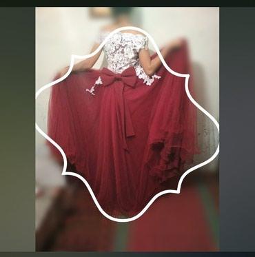 Продаю платья цвет бардовое размер 42_ в Бишкек