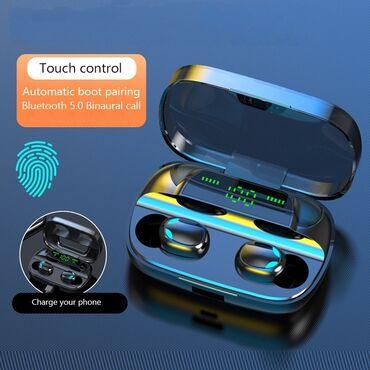 беспроводные наушники для ipad в Кыргызстан: Super НовинкаS11 TWS Беспроводные Bluetooth наушники Handsfree Sport