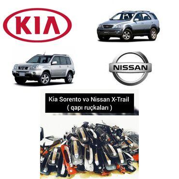 Kia Sorento ve Nissan X-Trail - qapi ruçkalari.----Kia Sorento ucun