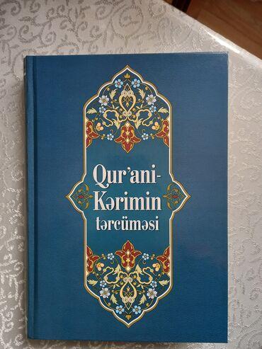 Dəftərxana malları - Azərbaycan: Qur'ani kerimin tecrumesi kitabi.Tecrumesi Ziya Bunyadov. Kitab mehdud