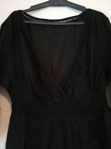 Jagger crna tunika, jednom obucena, m vel, jako lagana - Pozega - slika 2