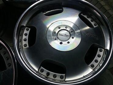 диски литые r16 5х 114 3 в Кыргызстан: Диски R17 zouher 6х139,7. Japan.Оригинальные разборные (двух